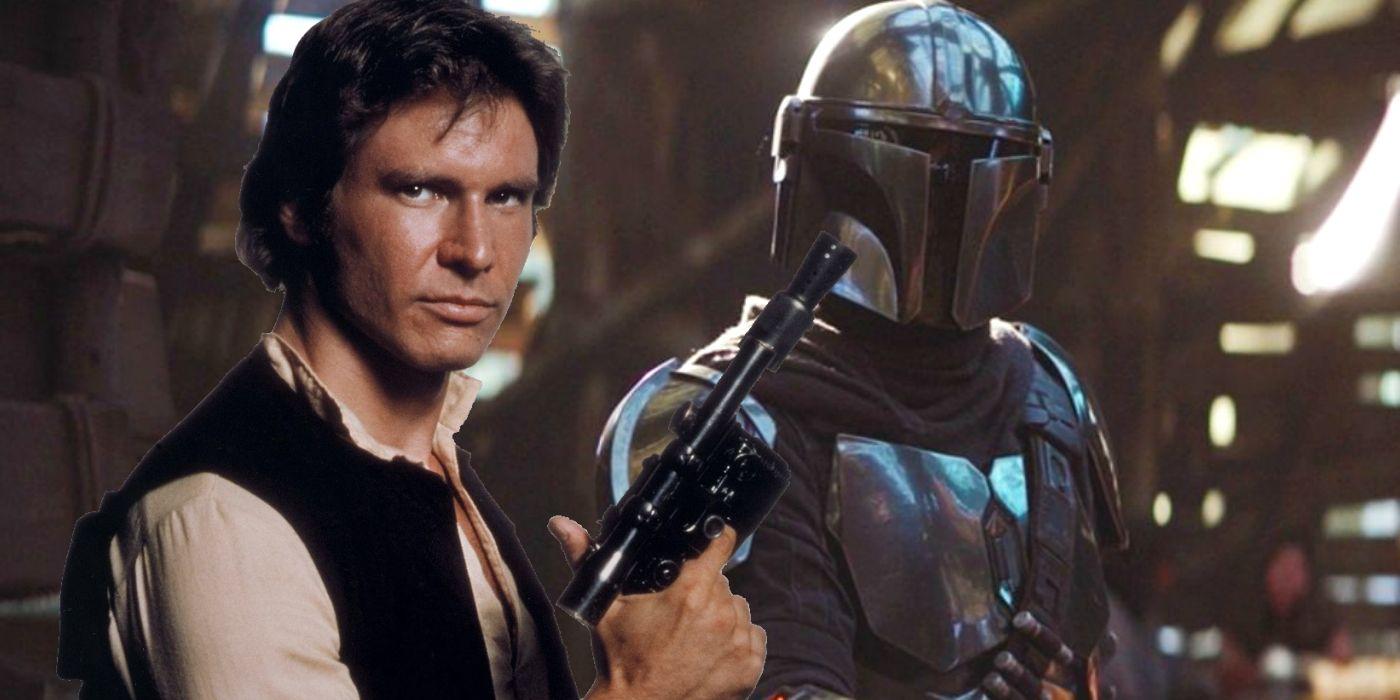 Onde estão os personagens da trilogia original de Star Wars durante o Mandalorian 2