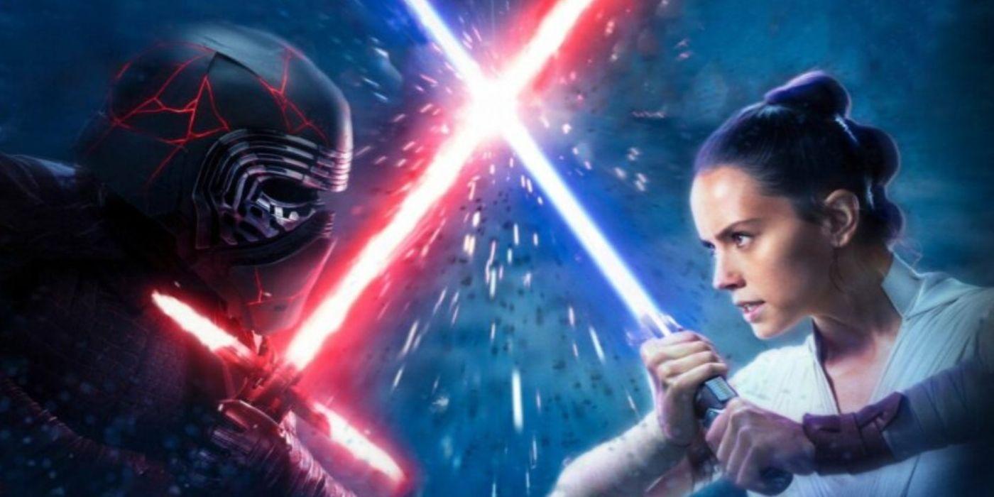 Horror-Shop Star Wars VII Reys Kampfstab