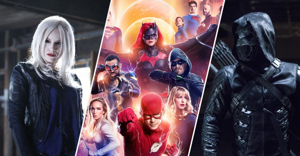 10 Arrowverse villains that can be seen.