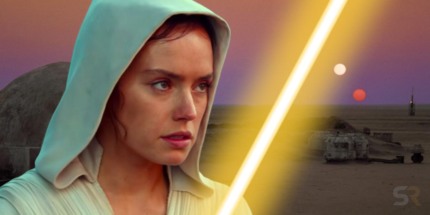 Star Wars Rey S Yellow Lightsaber Real Meaning Explained