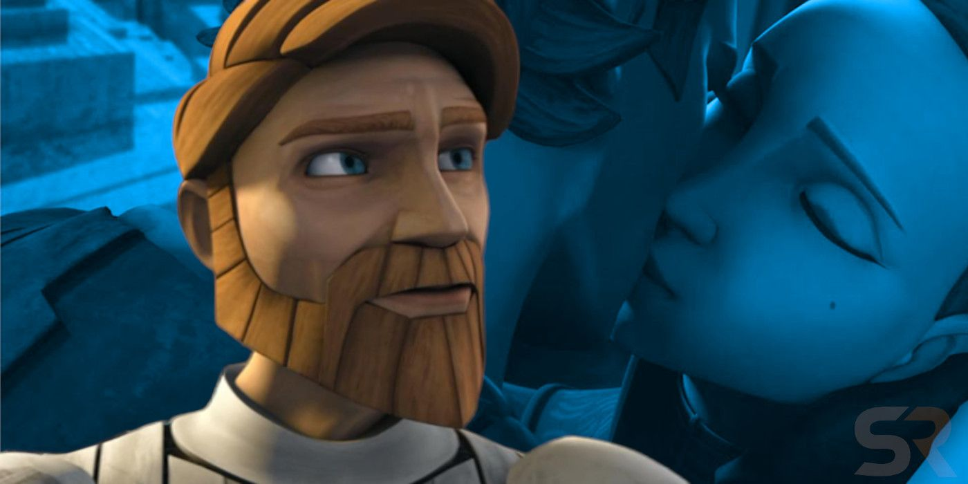 Clone Wars Hints Obi Wan Knew About Anakin Padme Before Revenge Of The Sith Movie Out Right Now