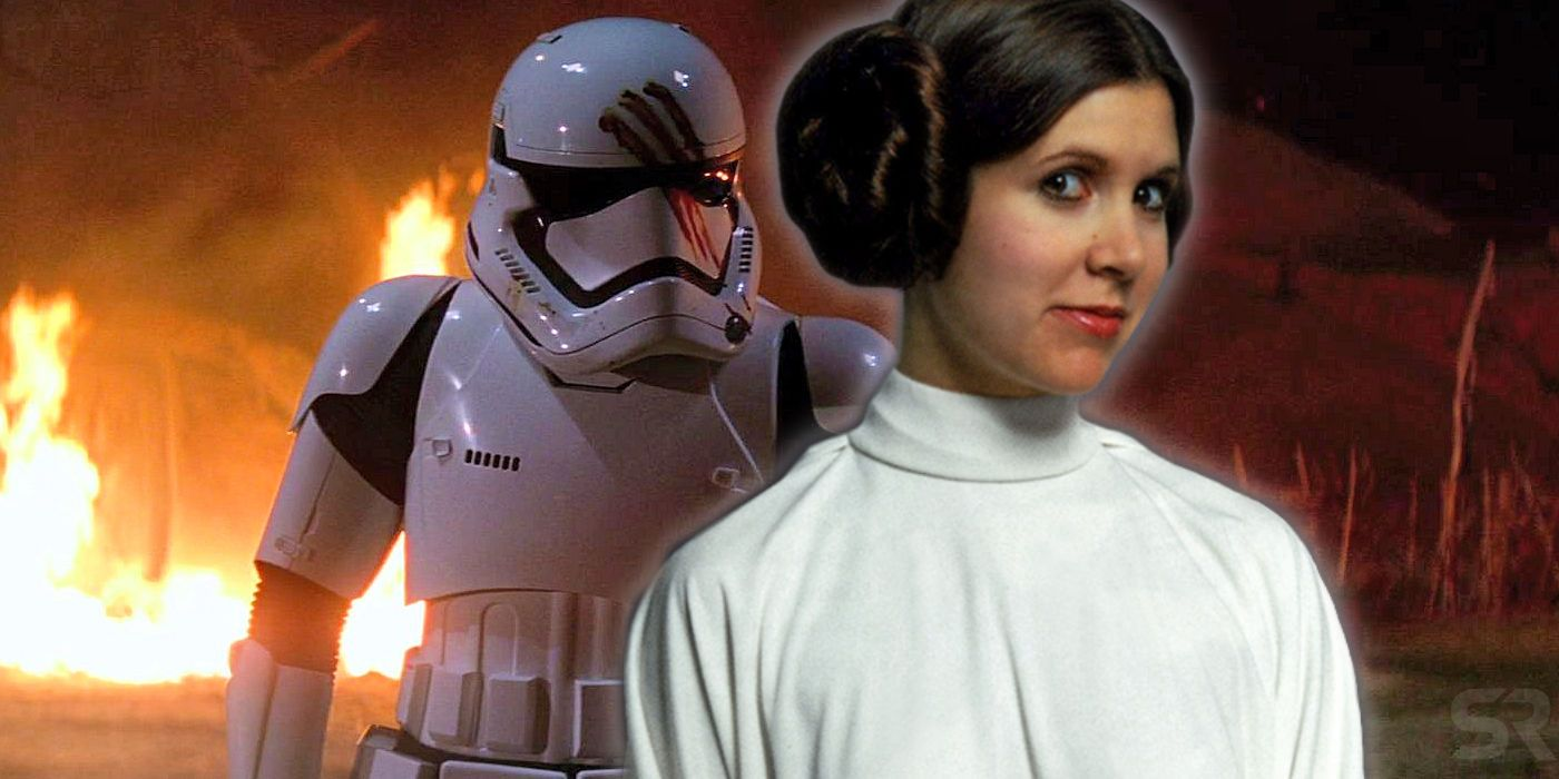 Star Wars: Finn's Stormtrooper Name Is A Great Princess Leia Easter Egg