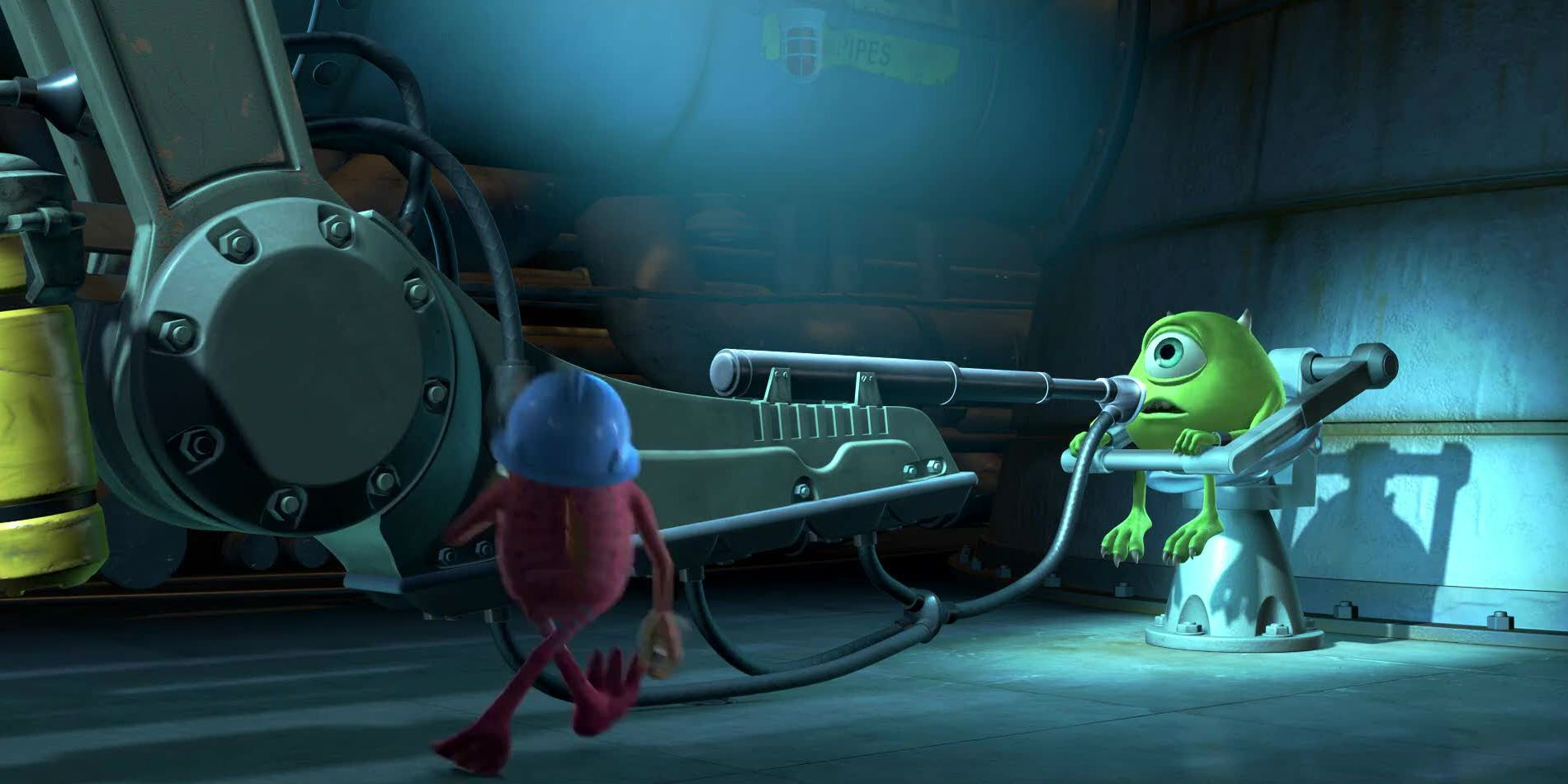 The Science Behind Monsters Inc S Scream Extractor Machine