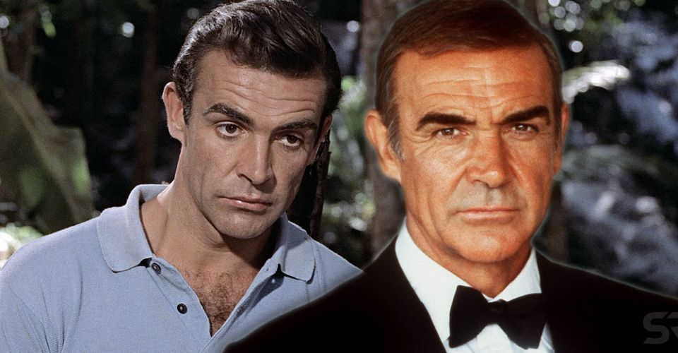 James Bond How Old Sean Connery Was In Each Movie Screen Rant