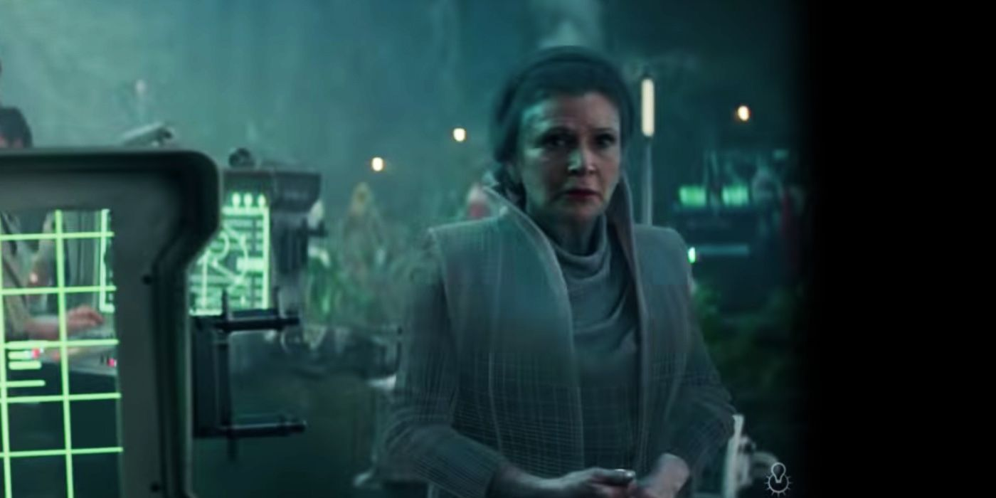 Rise Of Skywalker Visual Effects Video Reveals How Much Of Leia Was Cgi