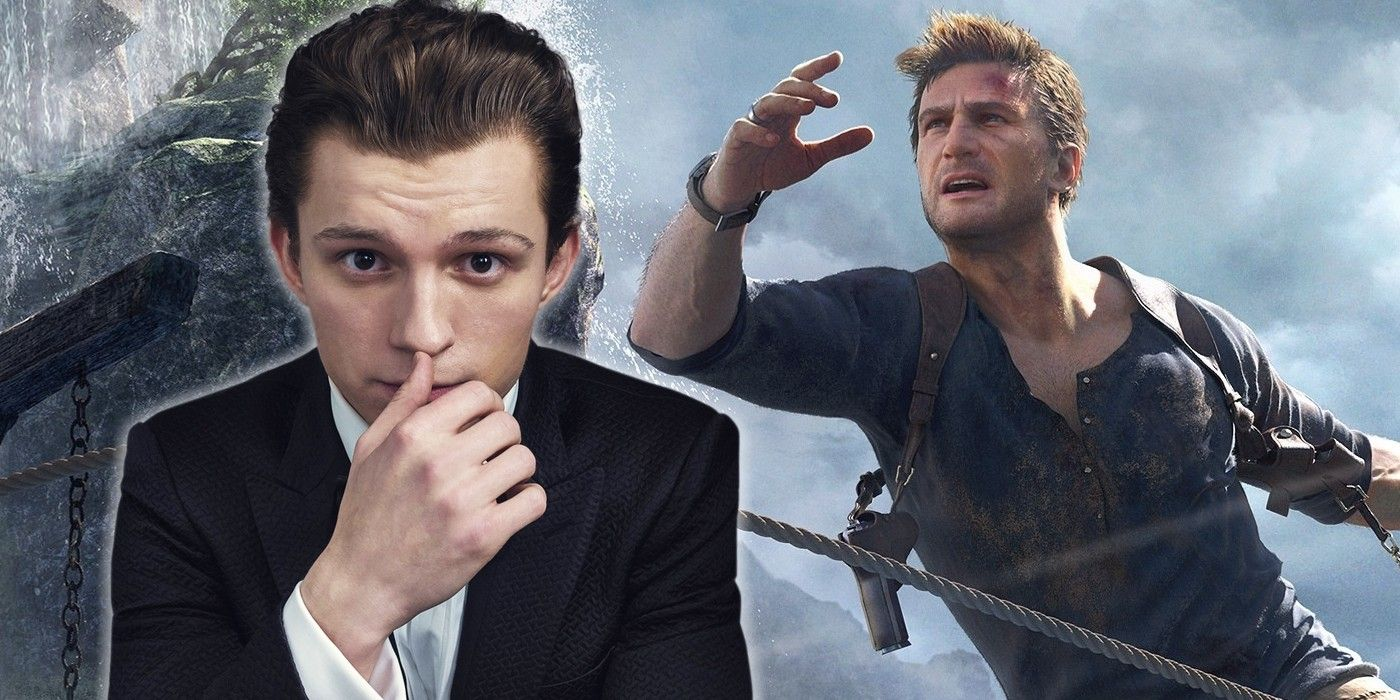 tom holland uncharted 2020