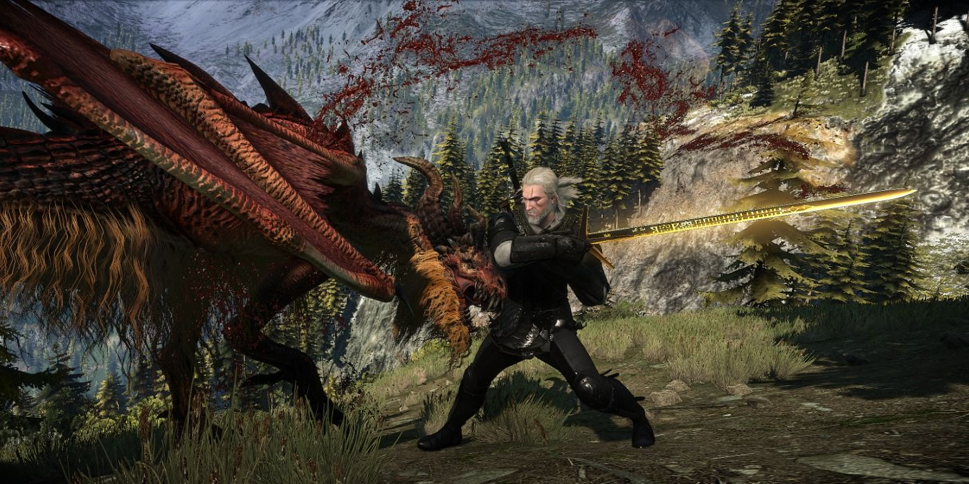 Aerondight Witcher 3