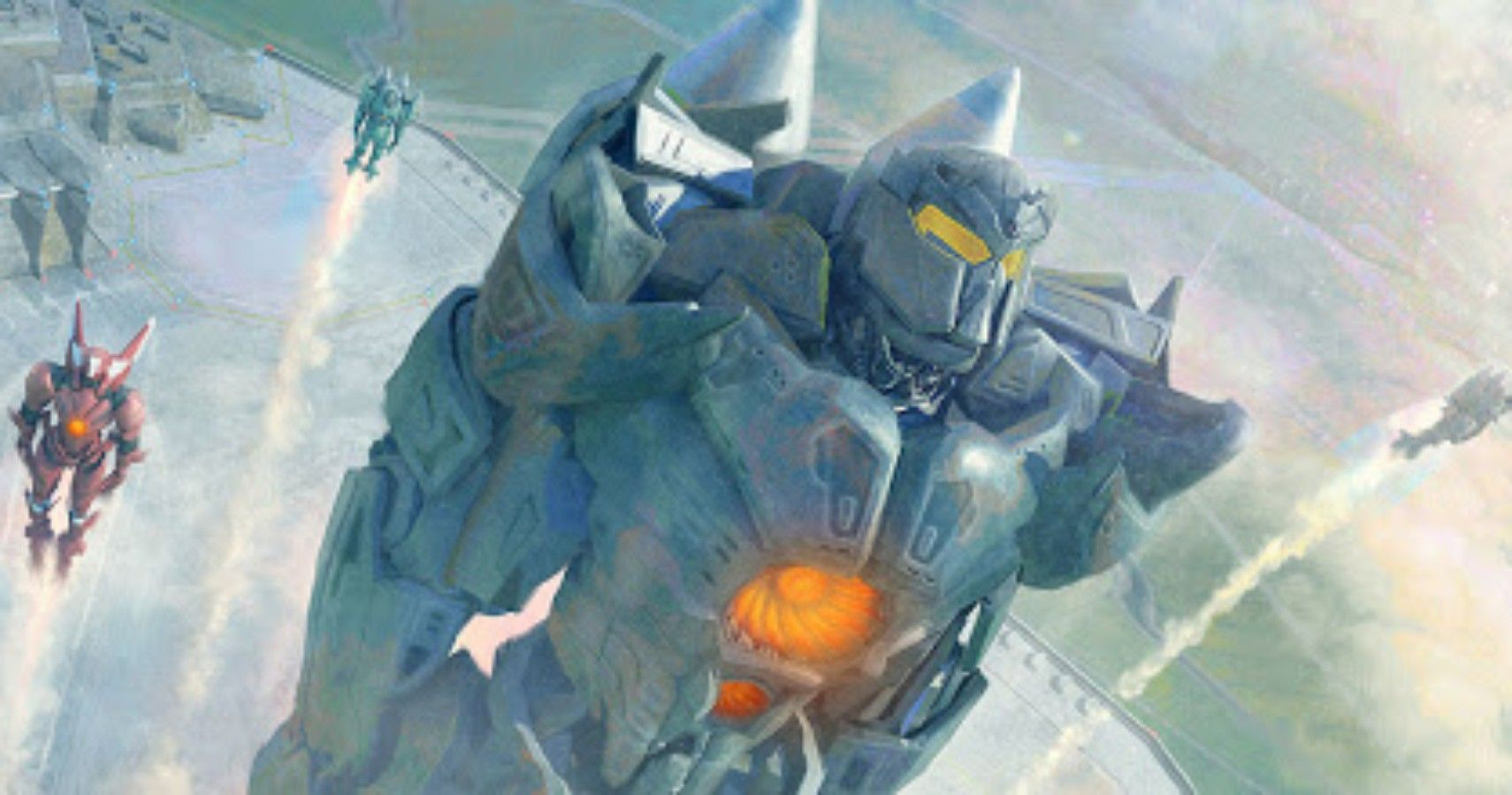10 Incredible Pieces Of Pacific Rim Concept Art Screenrant Zerochan has 30 kaiju anime images, fanart, and many more in its gallery. pacific rim concept art