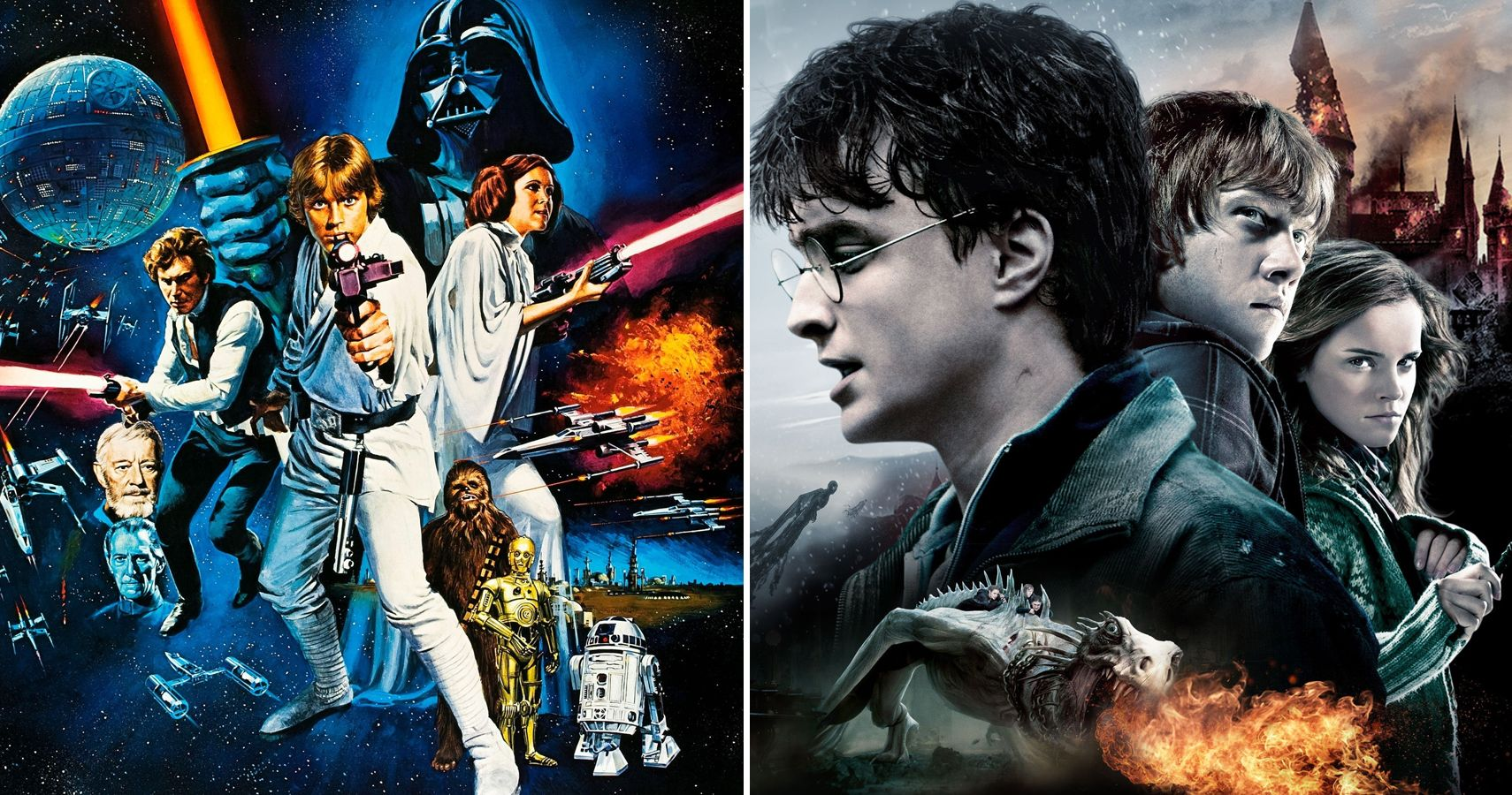 Star Wars Vs Harry Potter 10 Best Movies Ranked According To Rotten Tomatoes
