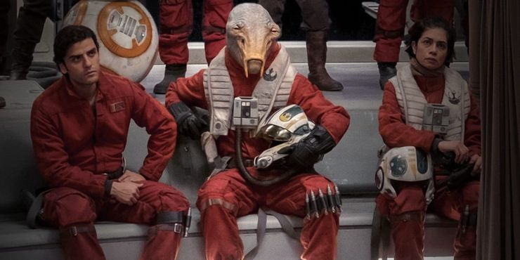Star Wars The 10 Best New Aliens From The Sequel Trilogy