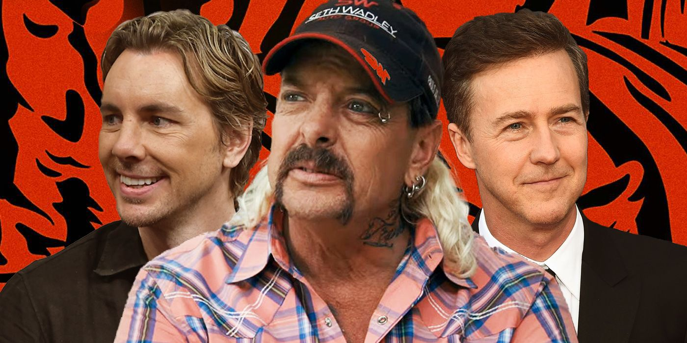 Tiger King: Edward Norton & Dax Shepard Both Want To Play Joe Exotic In A Movie Adaptation Of Crazy Netflix Doc