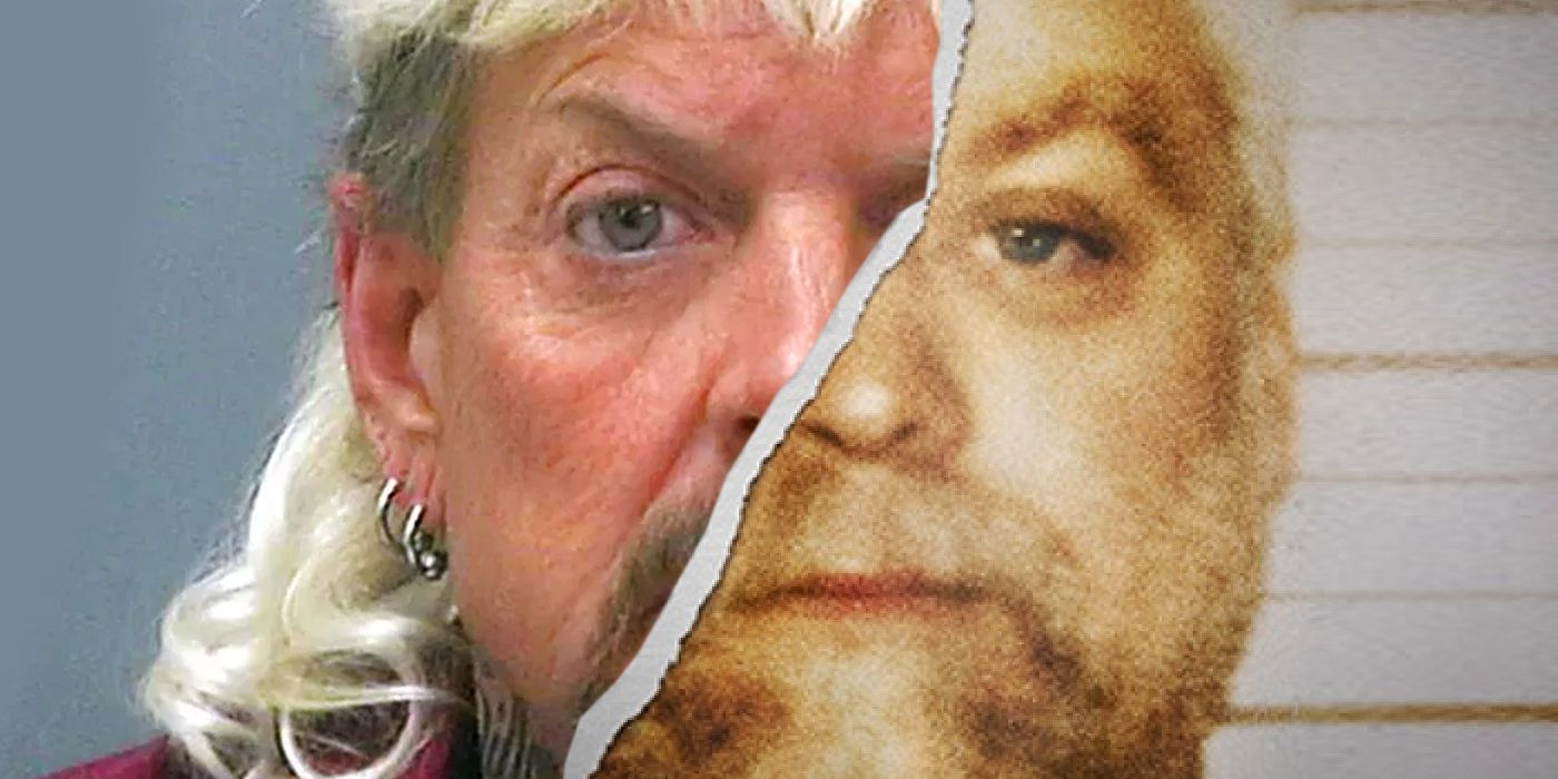 Photo of Tiger King Joe Exotic Filming Netflix Special With Making A Murderer's Steven Avery | Screen Rant