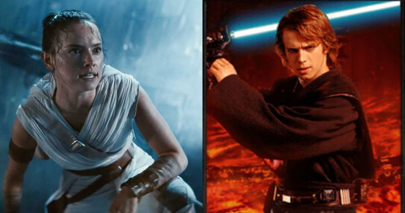 Rey Vs Anakin 5 Reasons Why Anakin Would Beat Rey 5 Reasons Why Rey Will Always Win
