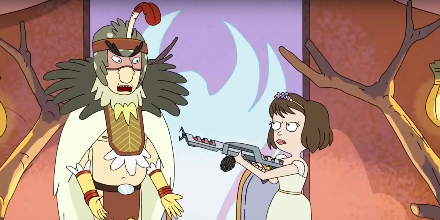 Rick And Morty: Why Tammy Betrayed Birdperson At Their Wedding