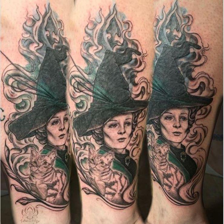 Animagus sirius tattoo black Harry Potter: