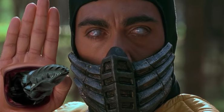 The Mortal Kombat Movie Got Scorpion S Spear Wrong Caused A