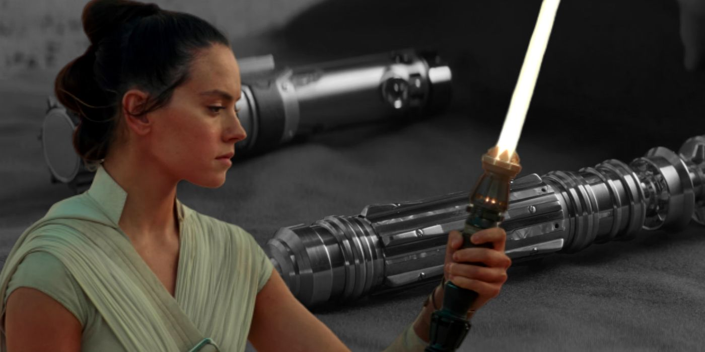 Star Wars How Rey S Lightsaber Is Different To Other Jedi S Not Just Yellow