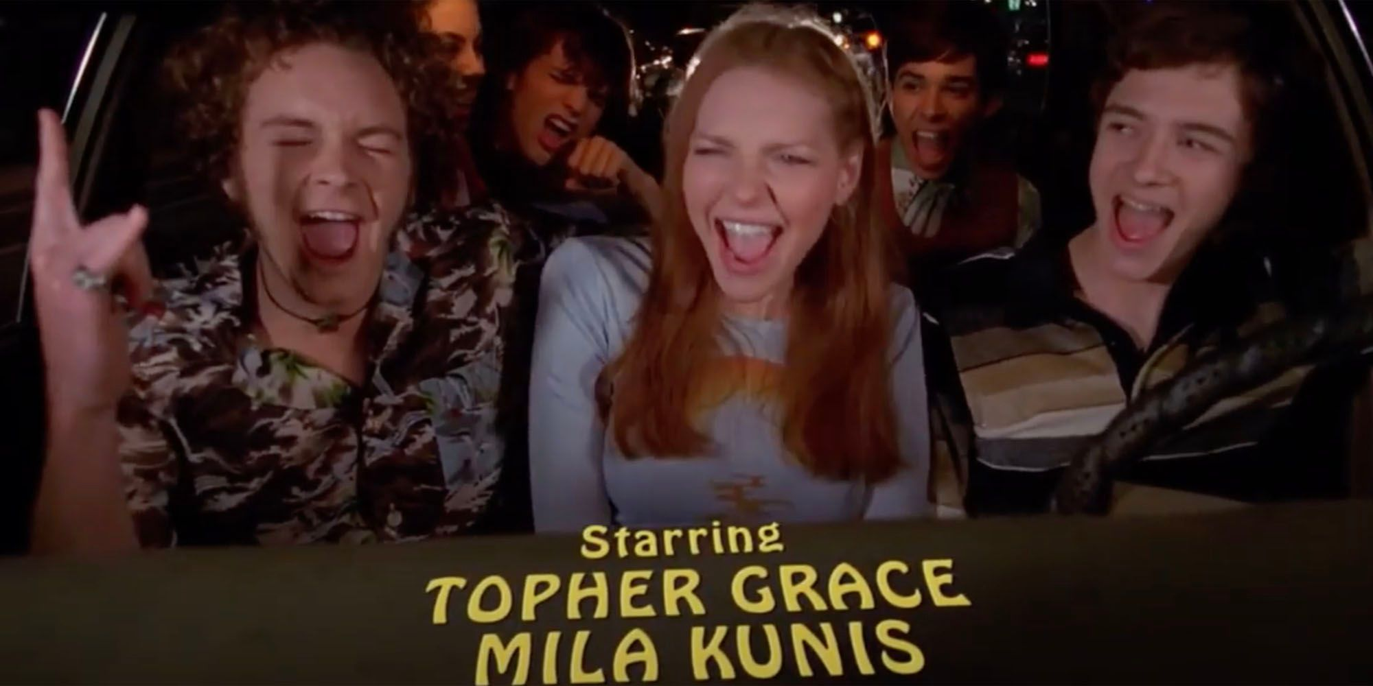 That 70s Show Why The Credits Stopped Using The Vista Cruiser In Season 8