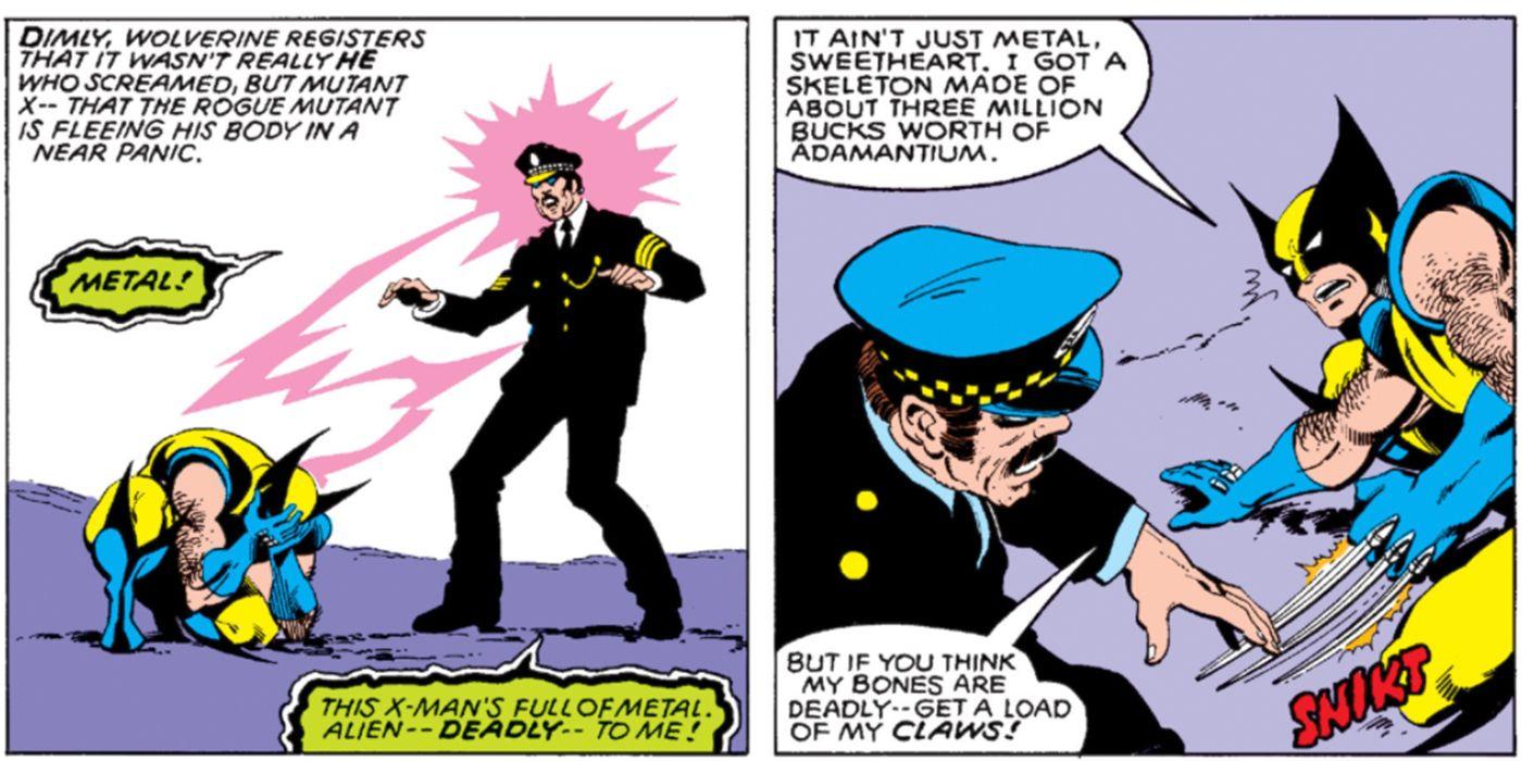 Wolverine's Metal Skeleton Makes Him a Millionaire