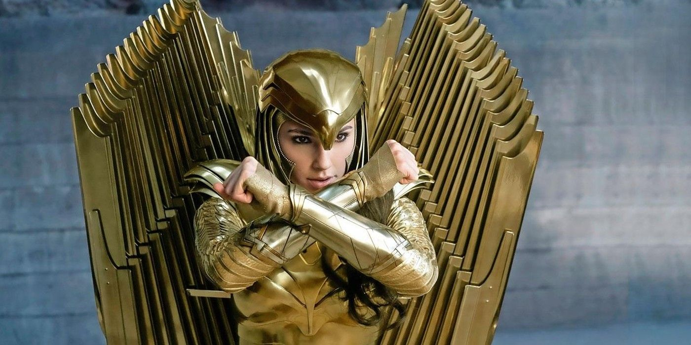 Wonder Woman 1984 Japanese Trailer Shows Diana's Golden Armor In Action