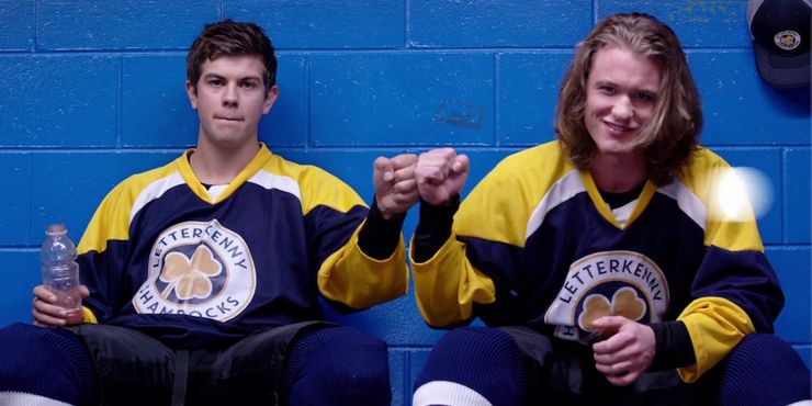 Letterkenny gay hockey players quotes