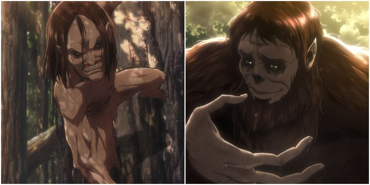 Attack On Titan: Every Ymir Titan And Where They Are Right Now