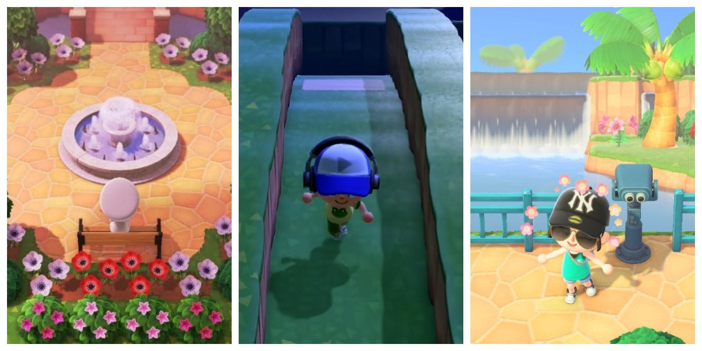 Animal Crossing New Horizons Creative Terraforming Ideas Examples