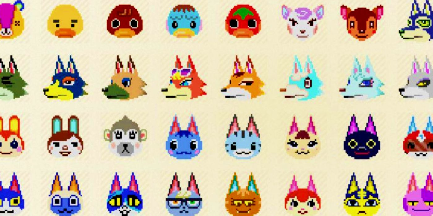 Animal Crossing 200 Villager Portraits Make Labeling Houses Easy