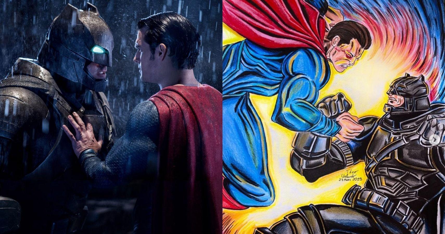 10 Heroic Batman V Superman Fan Art Pictures We Adore