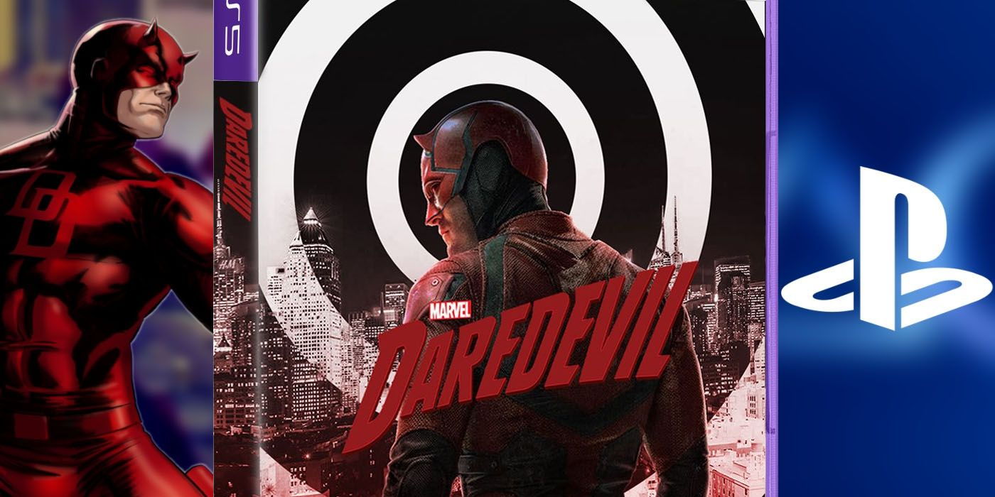 PS5 Daredevil Marvel Game Cover Makes Us Want A Real Entry Even More