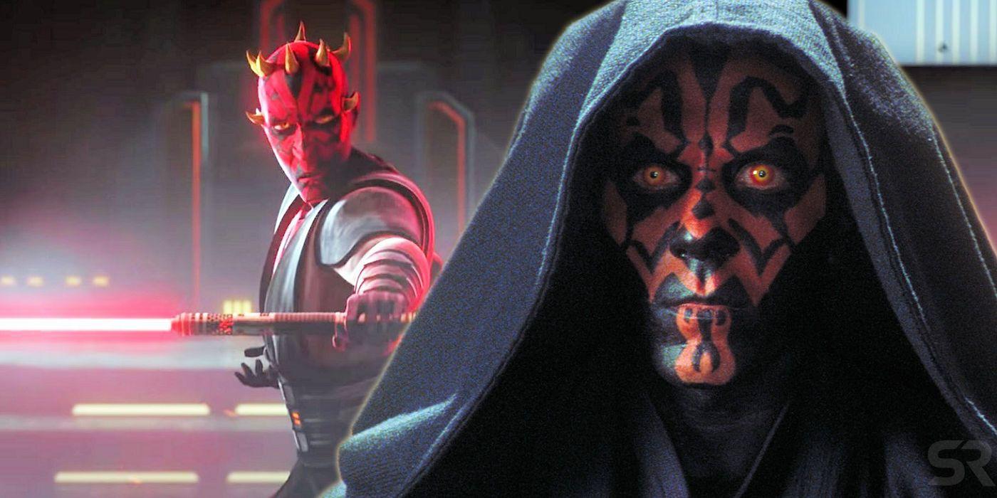 Clone Wars Fixed The Phantom Menace's Darth Maul Mistake