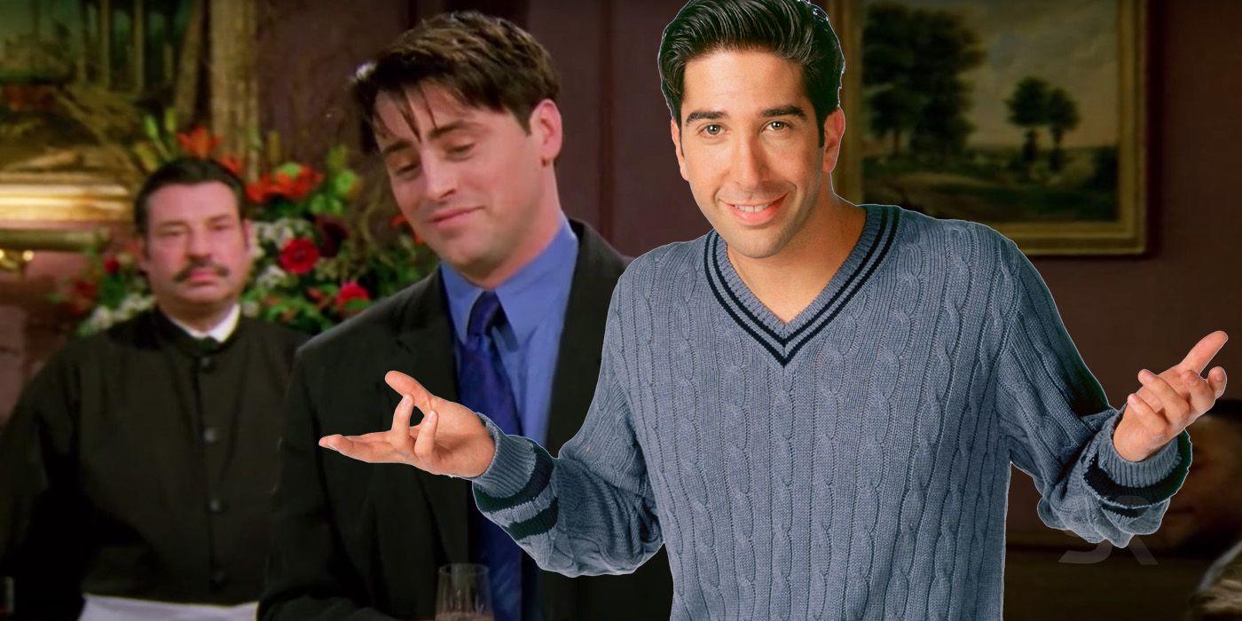 Friends: How Joey's Best Man Speech At Ross' Wedding Created A Plot Hole