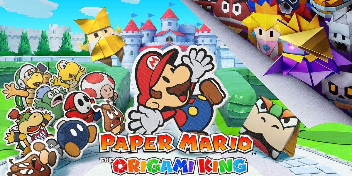 Paper Mario Origami Toad Reveals Adult Toad Screen Rant