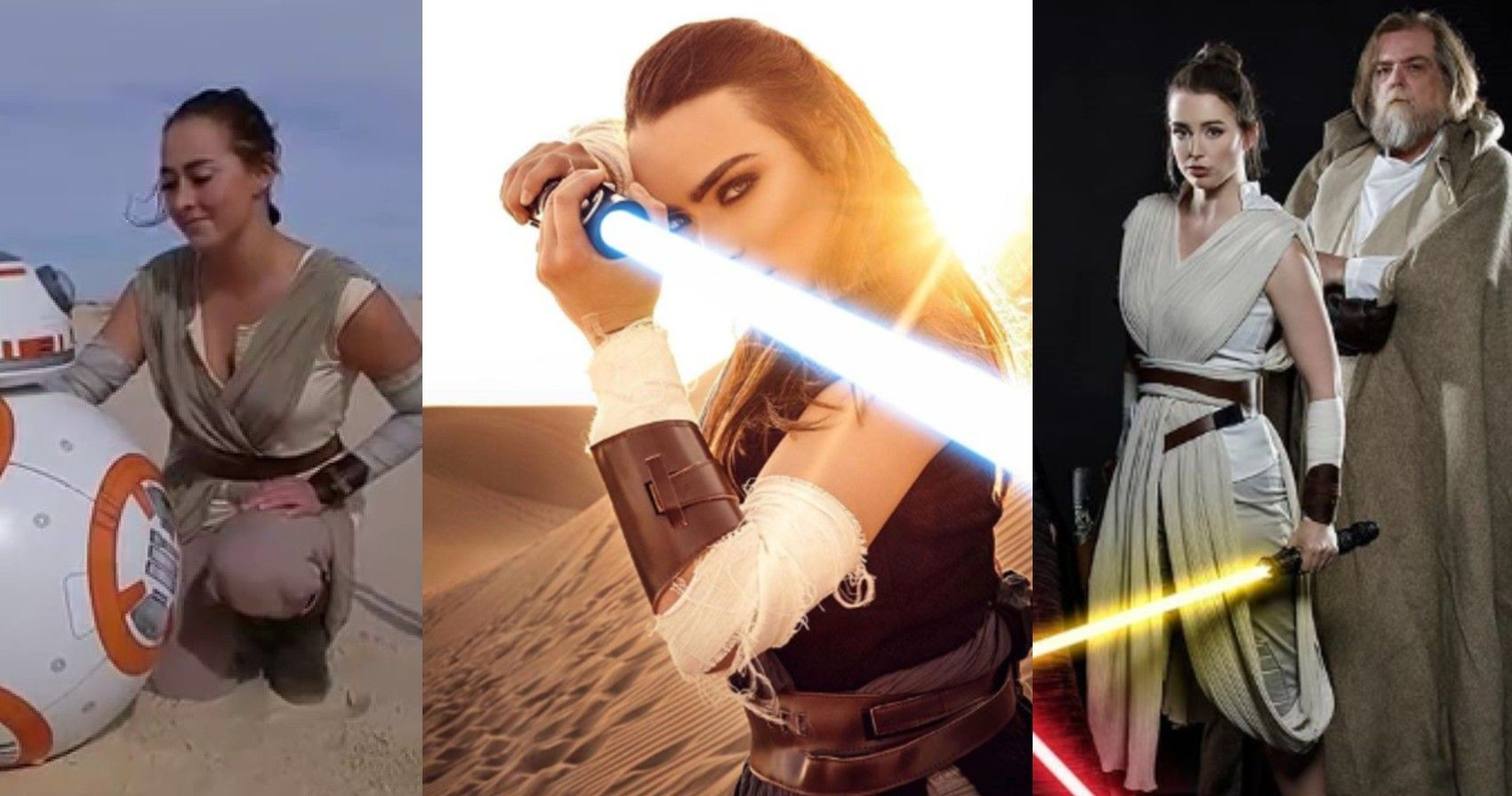 Star Wars 10 Incredible Rey Cosplays That Look Just Like Her