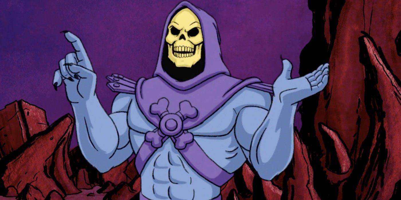 The Weird Way He-Man's Original Skeletor Actor Recorded His Lines