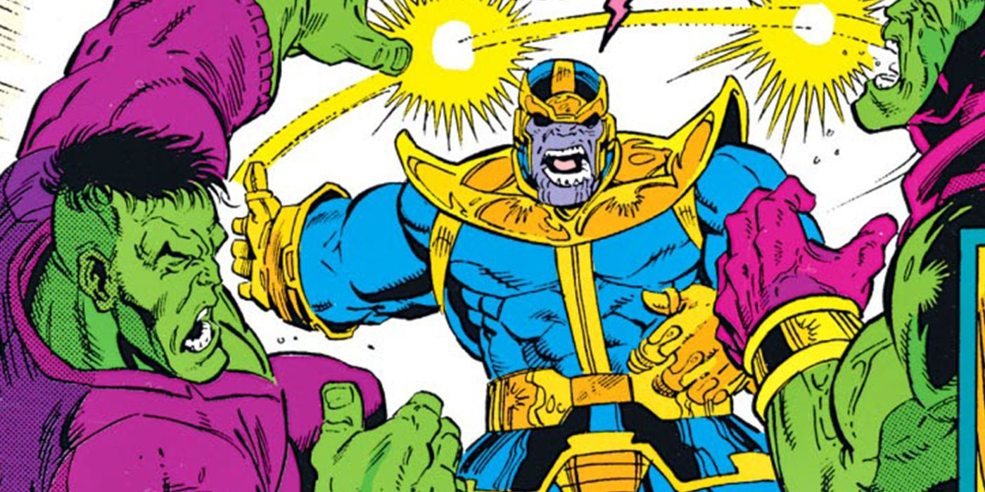 Thanos Took Out Two Hulks With ONE Slap | Screen Rant