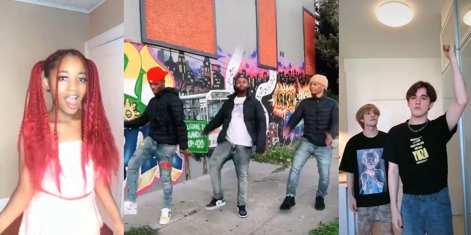 Easy Tiktok Dances Screen Rant