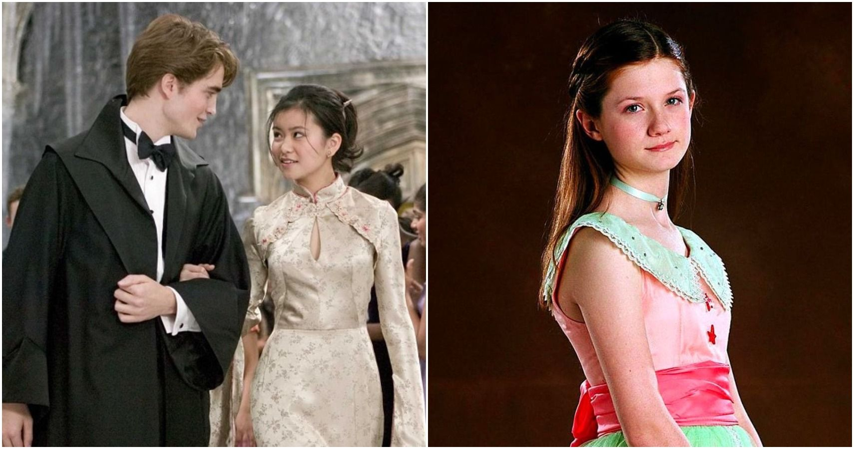 Harry Potter Yule Ball Outfits Ranked Screenrant
