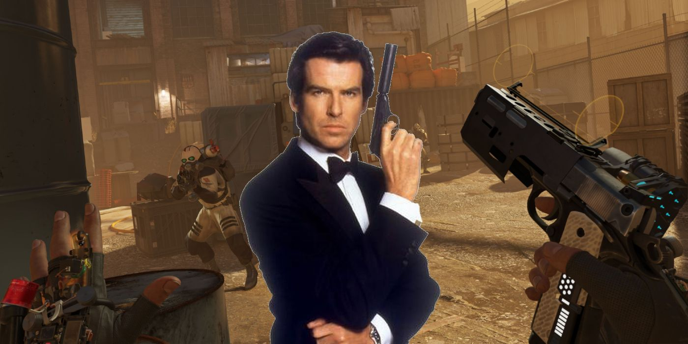 Goldeneye 007 Comes To Vr With New Half Life Alyx Mod