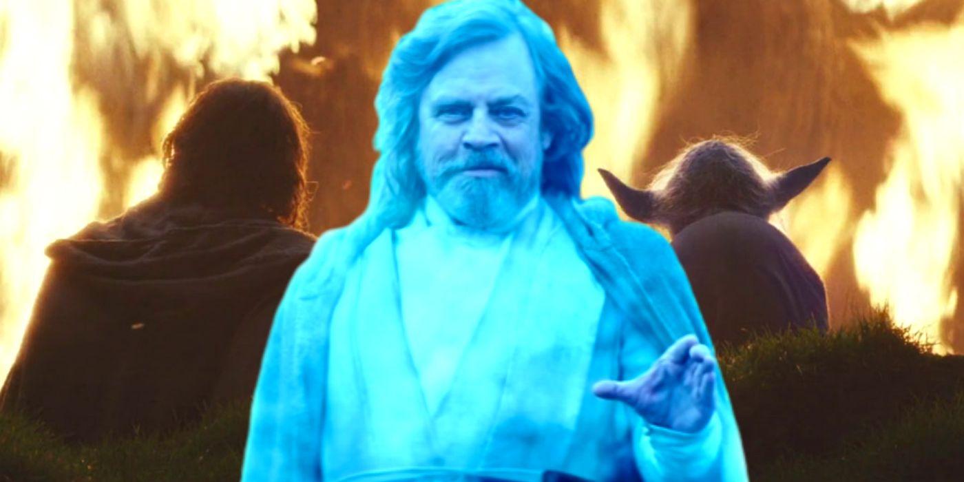 Rise Of Skywalker Ruins Last Jedi S Luke Yoda Force Ghost Scene