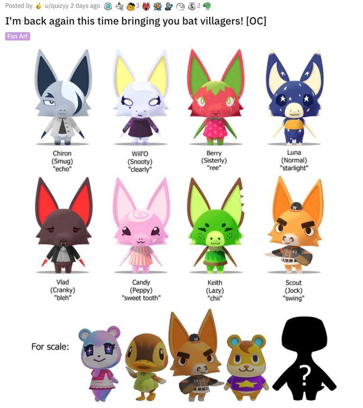 Animal Crossing S Best Fan Made Villagers Screen Rant