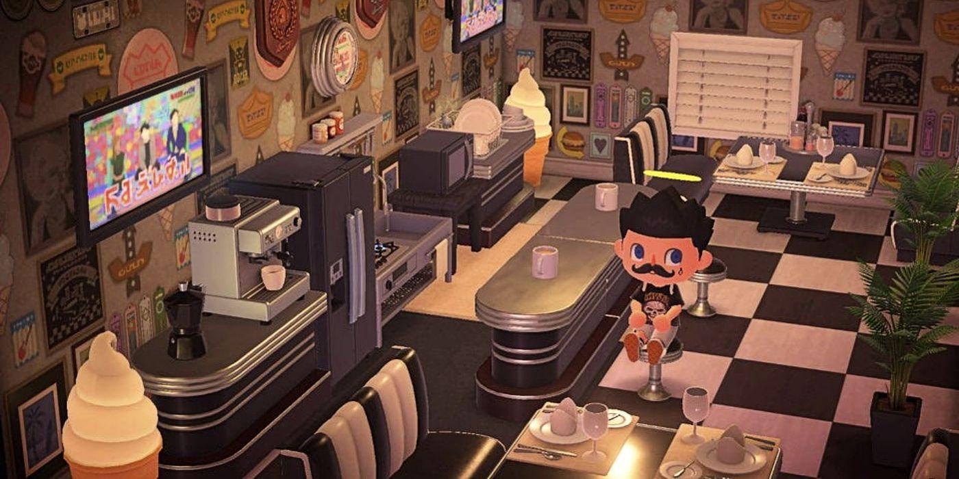 Animal Crossing New Horizons Restaurant Design Ideas