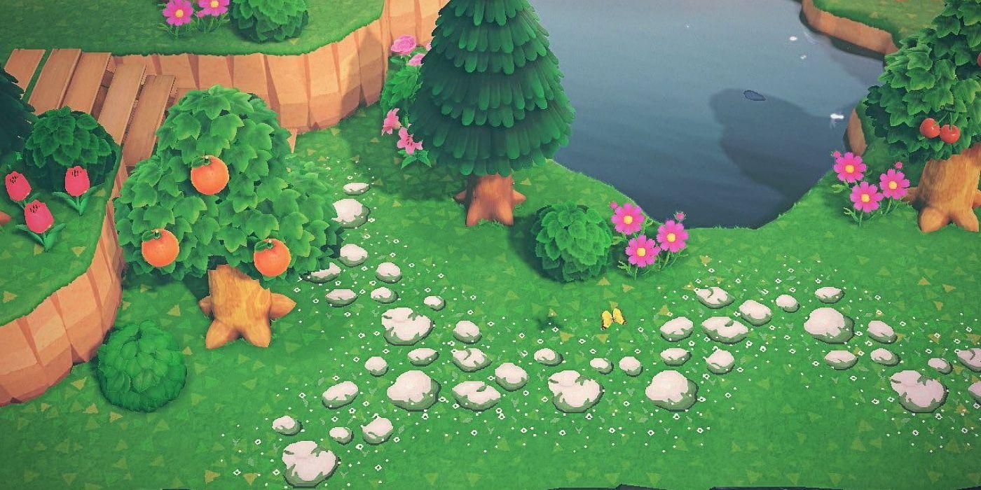 Custom Path Design Ideas & Tips in Animal Crossing: New ...