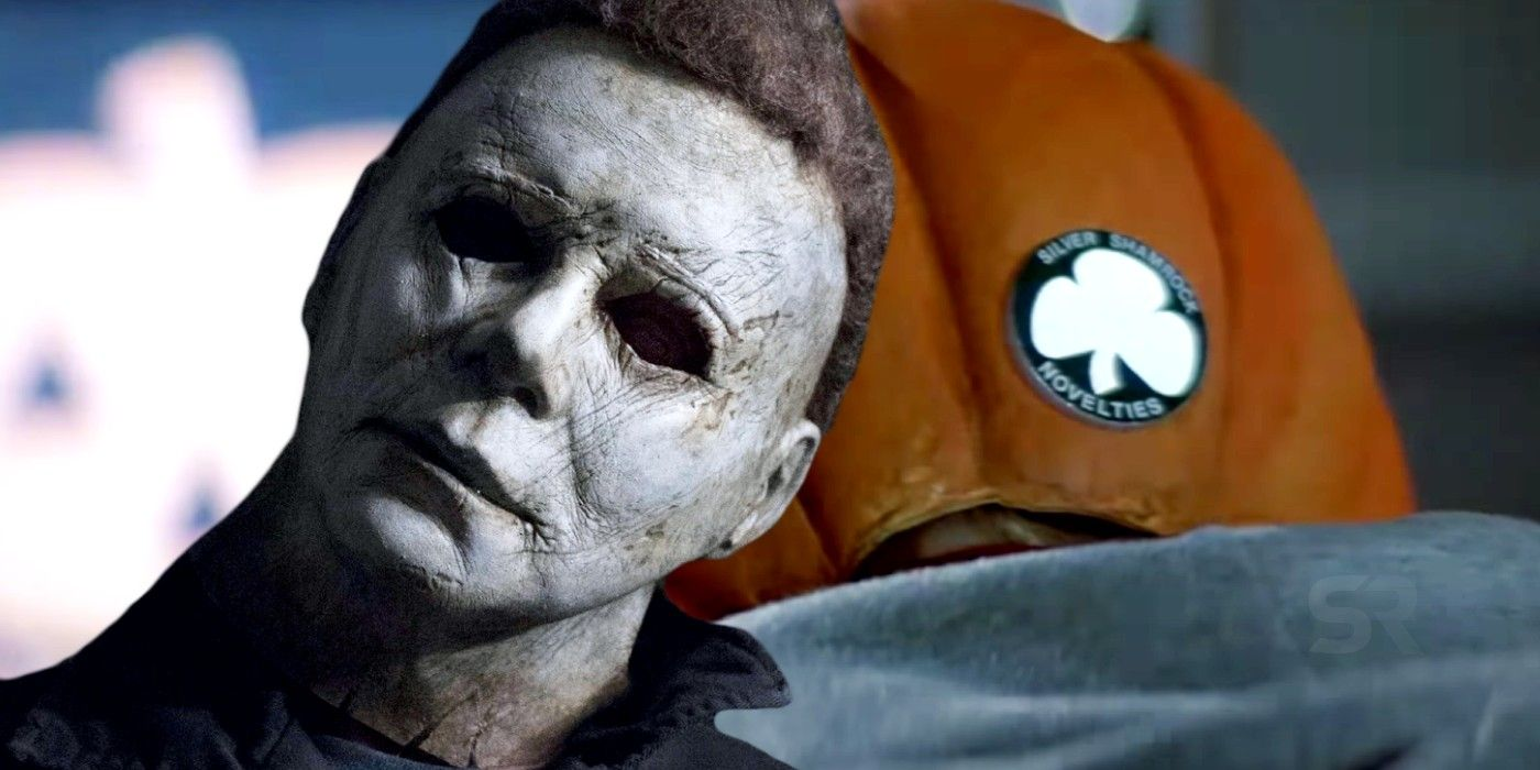 Halloween 2020 Theories Halloween Theory: Michael Myers' Mask Was Made By Silver Shamrock