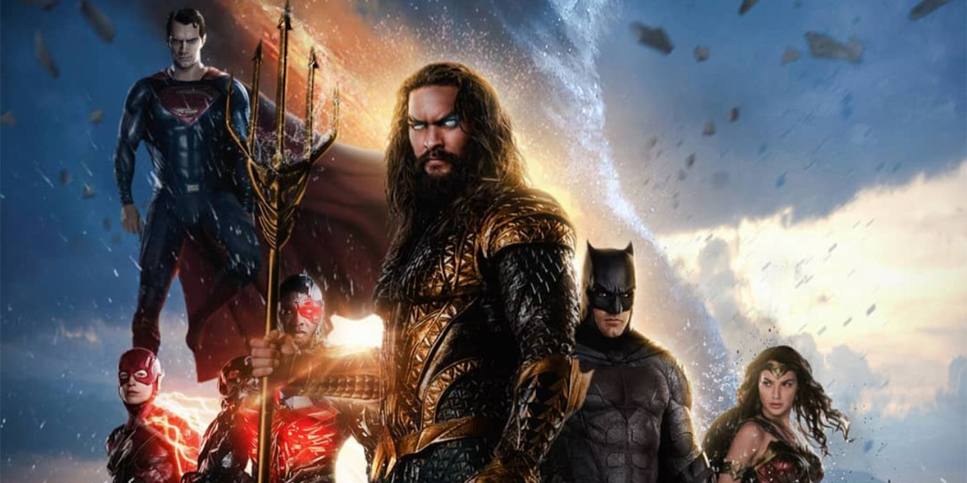 DCEU's Justice League Star In Live-Action Throne of Atlantis Fan Poster