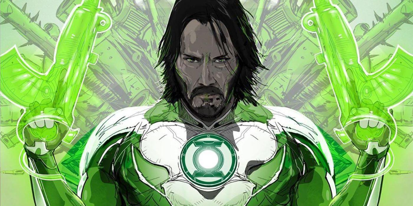 Keanu Reeves' John Wick Becomes Green Lantern & Sinestro in New Fan Art