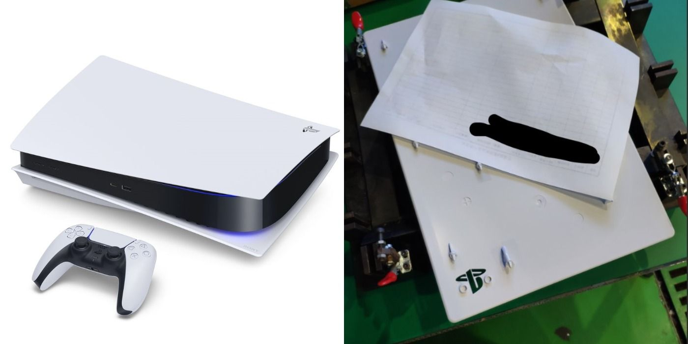 Ps5 Rumor Says The Console S White Cover Plates Are Interchangeable