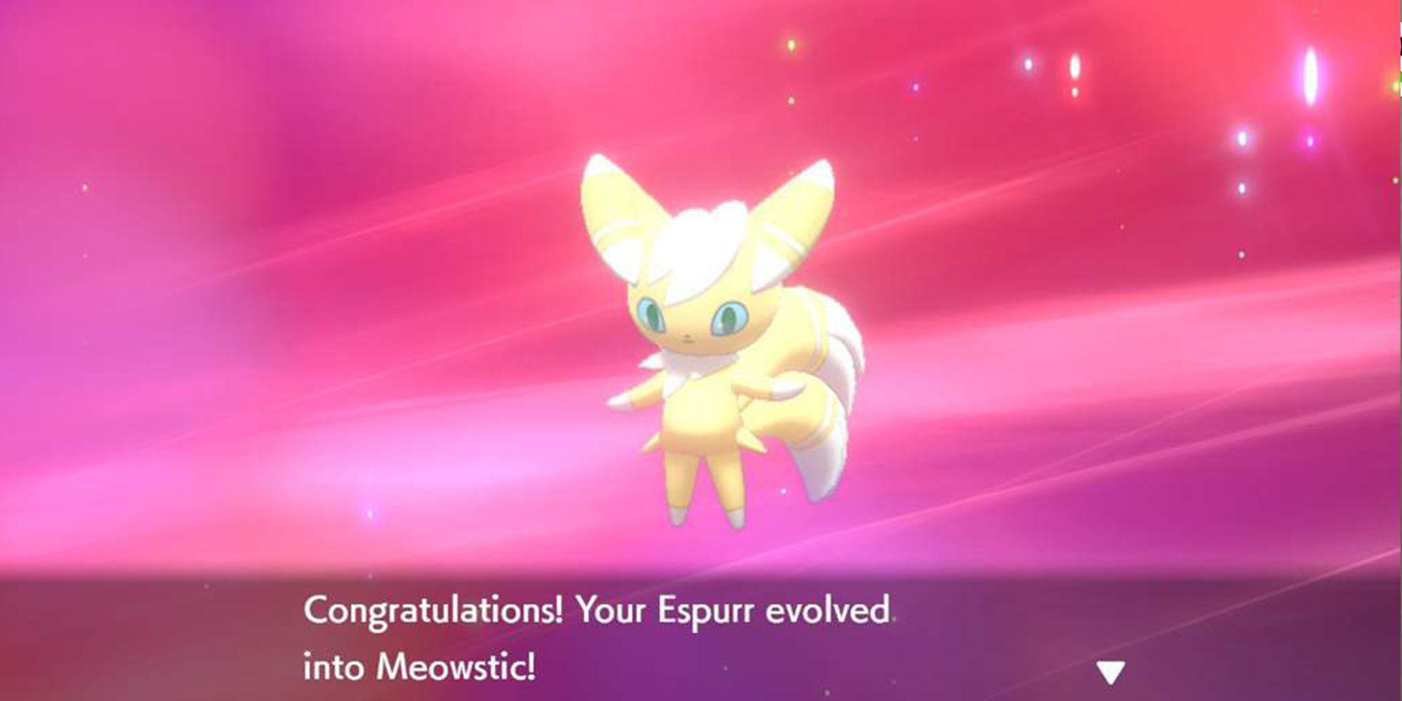 Meowstic Pokemon Shield