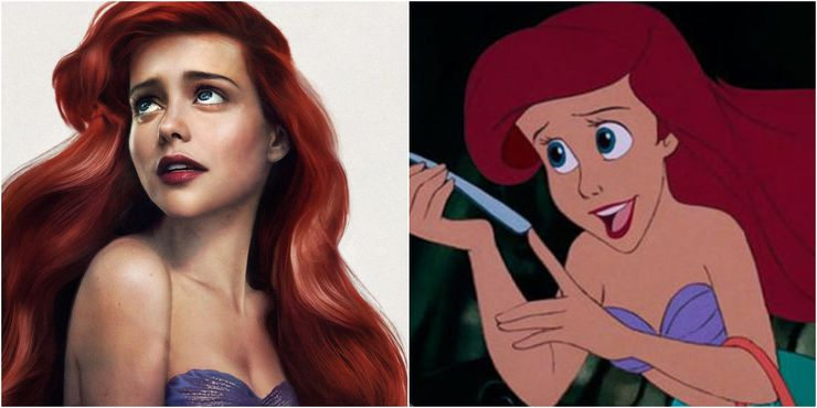 ariel disney princesses in real life