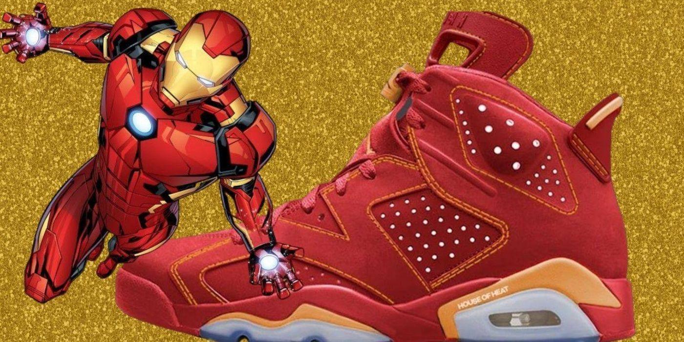 Iron Man Air Jordan 6 Concepts Are